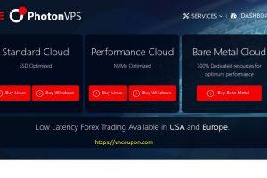 PhotonVPS – 优惠50% NVME Cloud VPS 最低 $5每月
