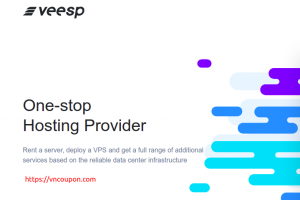 Veesp – Cheapest Offshore VPS 最低 $3每月 + 优惠5%折扣 Code