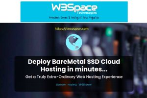 W3Space – 优惠50% Fully Offshore VPS 仅 $8.48每月, KVM SSD VPS 最低 $15每年