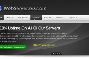 WebServer.eu.com – Managed SSD VPS Promos 最低 $20每月