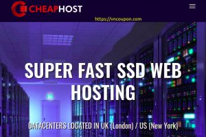 Cheap 虚拟主机 UK – 优惠40% SSD cPanel Hosting 最低 9英镑每年 in US/UK – 免费SSL, 无限 流量