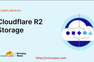 Cloudflare R2 Object Storage – $0.015 per GB of data stored per month