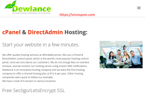 Dewlance – Cheap UK Hosting 最低 $2每年 & 分销型虚拟主机 最低 $2每月 – SSD + 即时开通