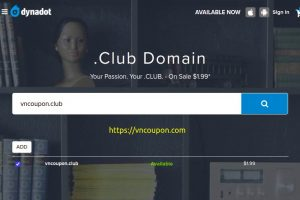 Your Passion. Your .CLUB on Sale $1.99 from Dynadot!