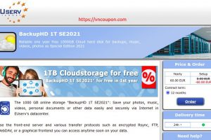 EUServ.com! 免费1TB of Cloud Storage for 1 year
