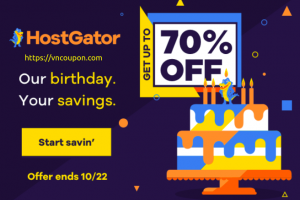 [Snappy's Birthday Sale] HostGator – 优惠70% ALL 12-36 Month 虚拟主机 Packages