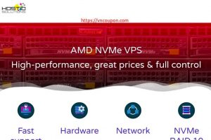 Hostio Solutions – AMD NVMe VPS 提供 最低 $5每月