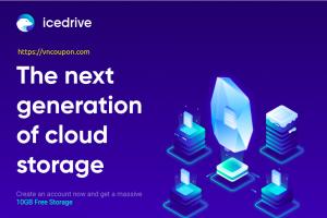 Icedrive – $99 Lifetime Cloud Storage 优惠信息