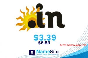 节省 51% on .IN 域名 names at NameSilo!