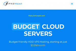 PNZHost – 优惠40% 永久 Any of Cloud VPS