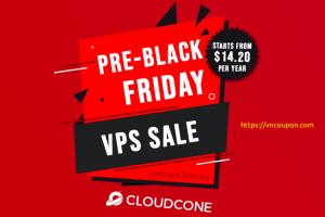 [Pre 黑色星期五 2021] CloudCone – 年付 Cloud VPS Sale 最低 $14.20每年