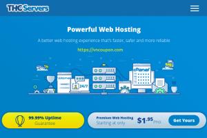 THCServers – 节省 优惠50% on Web, Reseller、VPS