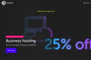 TsoHost – 优惠25% 1 st year on Business Hosting