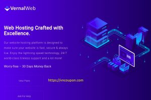 VernalWeb – 优惠40% on all Managed VPS套餐 on the first month!